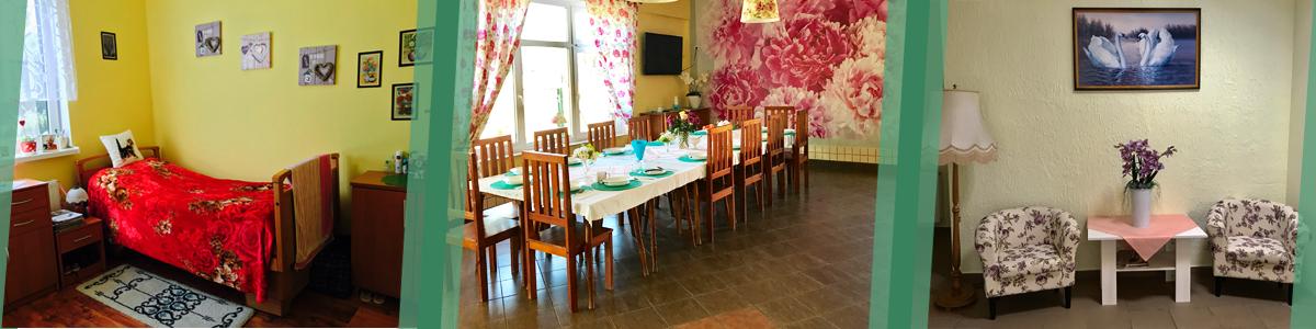 Przestronne pokoje przystosowane dla osób niepełnosprawnych